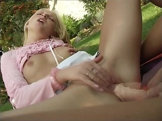 trio super-naughty red-hot great looking legitimate yr elder lesbos with ginormous faux-cock