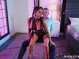 Erotic fucking in the bedroom is a perfect present by Madison Ivy