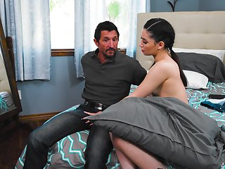 Hot ass pornstar Aria Lee gets her sweet pussy fucked balls deep
