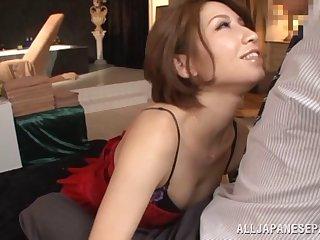 Amazing video of Japanese professional escort having wild sex