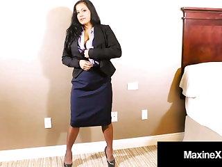 Asian Persuasion Maxine X Face Fucked While Dildo Fucking!