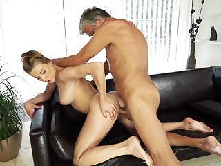 Teen flop with her BF's father