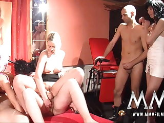 MMV Films German swingers sex in a sex club