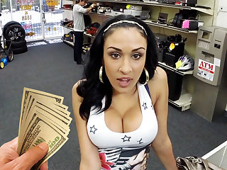 Young latina unsubtle fucking for capital