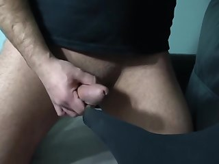Footjob and foot cum clean in 4K